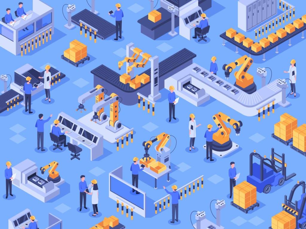 Vib-assist productieprocessen