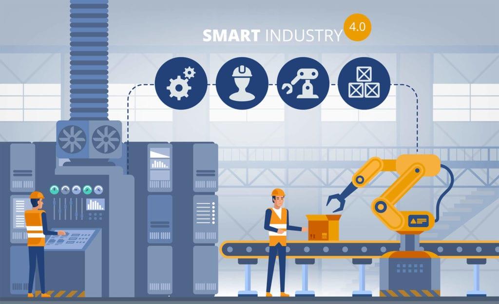 Vib-assist Industry 4.0 werkwijze